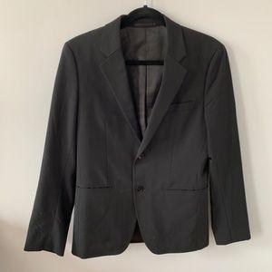 Theory Xylo Np Tailor Black Sports Coat (36 Short)